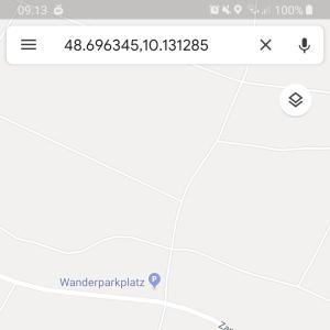 Wanderparkplatz Richtung zang