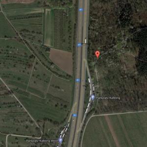 A81 Parkplatz Kälbling
